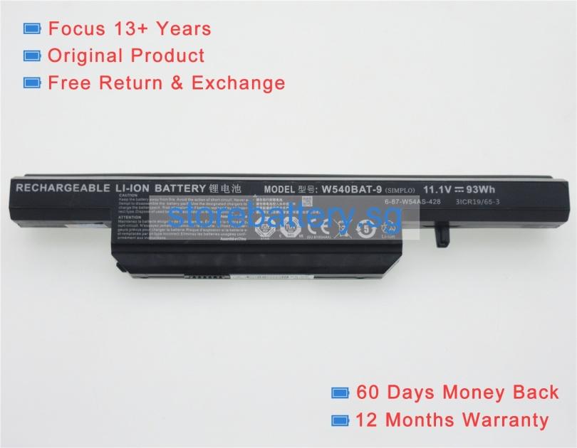 W540bat-6 batteries | genuine Clevo w540bat-6 laptop battery